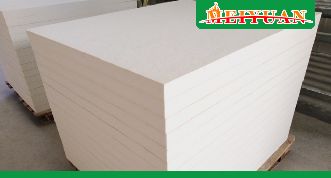 Is There Adhesive In The Insulation Ceramic Fiber Board? China