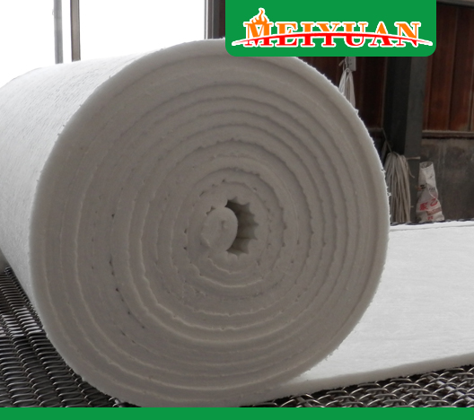 What factors affect the thermal conductivity of refractory fiber blanket?