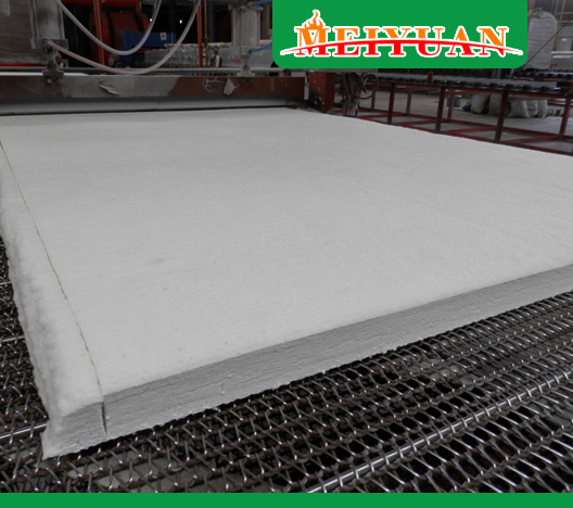 Reasons for affecting thermal conductivity of insulating ceramic fiber blanket 2